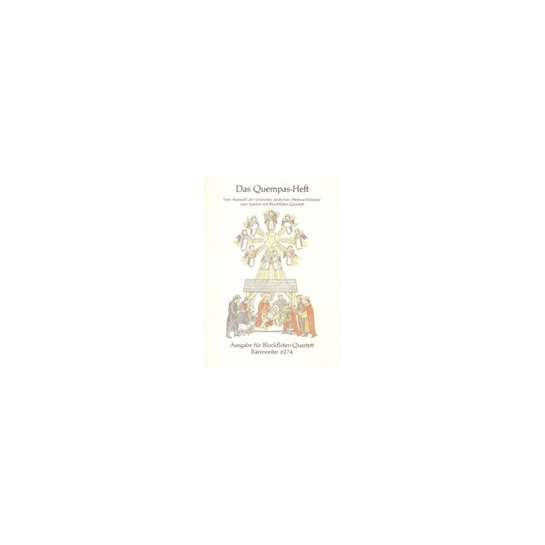 Various Composers - Quempas Book.  37 Christmas Songs (G).