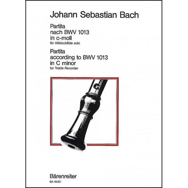 Bach J.S. - Partita in C minor (originally in A minor) (BWV 1013) (Urtext).