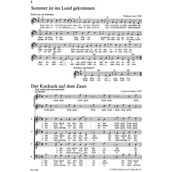Various Composers - Gesang im Gruenen. Chormusik zu Fruehling, Natur und Wandern (G).