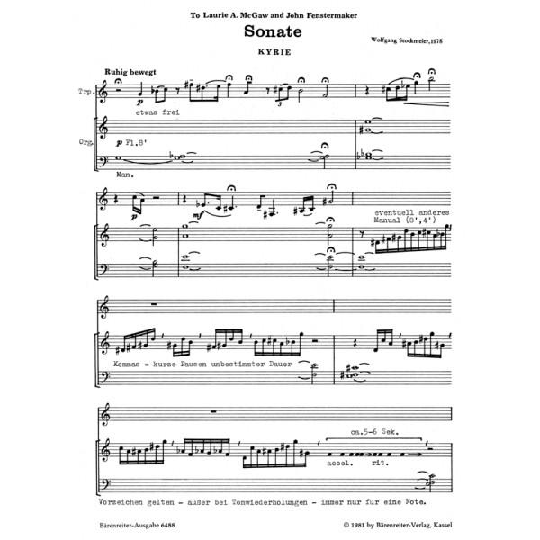 Stockmeier W. - Sonata.