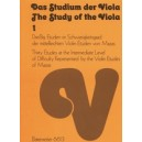 Various Composers - Study of the Viola, Bk.1: 30 Moderately Easy Studies