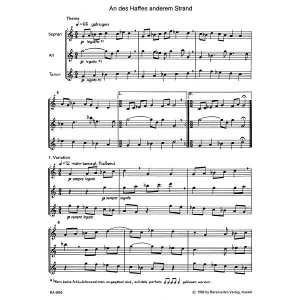 Koerppen A. - Variations on Two Folk Songs.