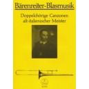 Bramieri C. - Double Chorus Canzonas by Old Italian Masters.