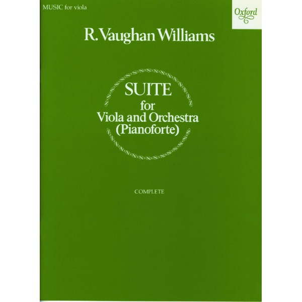 Suite for viola and orchestra - Vaughan Williams, Ralph