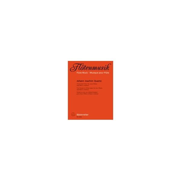 Quantz J.J. - Trio Sonata in B-flat. First edition.