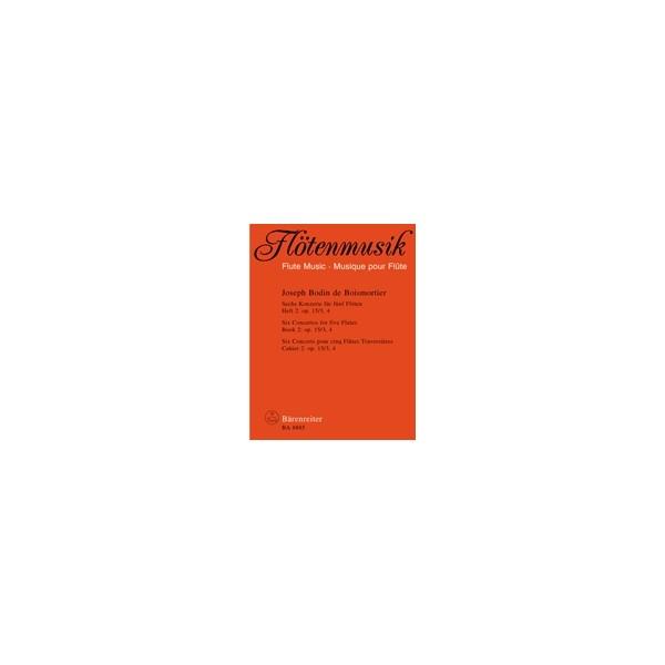 Boismortier J.B. de - Concertos (6), Vol. 2: Op.15/3,4.