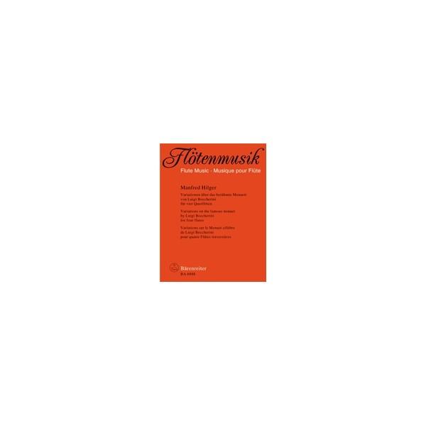 Hilger M. - Variations on the Famous Boccherini Minuet.