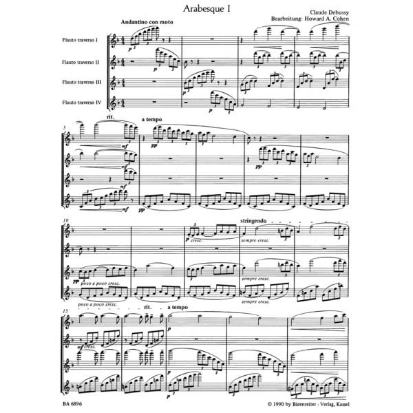 Debussy C. - Deux Arabesques.