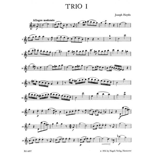Haydn F.J. - London Trios (4) (Hob.IV:1-4).