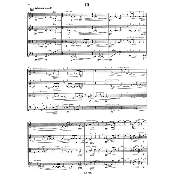 Schlee T.D. - String Quartet No.2, Op.21.