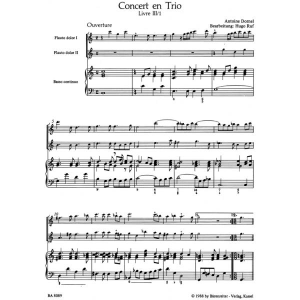Dornel A. - Concert en Trio.