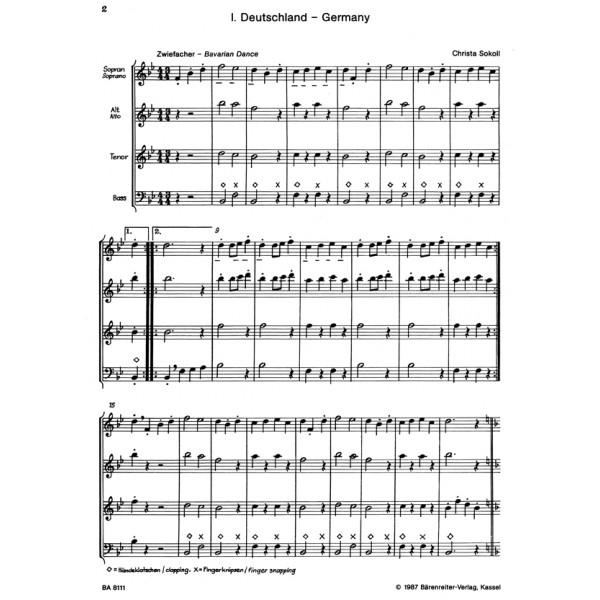 Sokoll C. - Trip around the World. Variations on Bienchen summ herum.