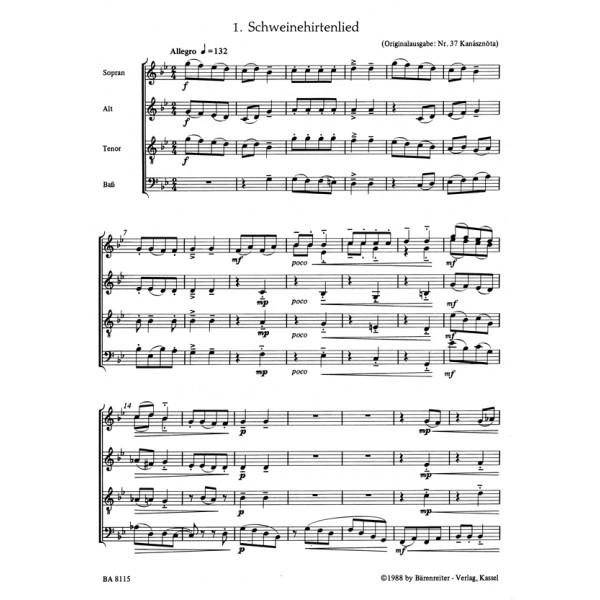 Bartok B. - For Children. Recorder Ensemble.