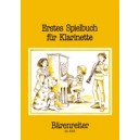 Various Composers - Erstes Spielbuch fuer Klarinette (First Repertoire for Clarinet).