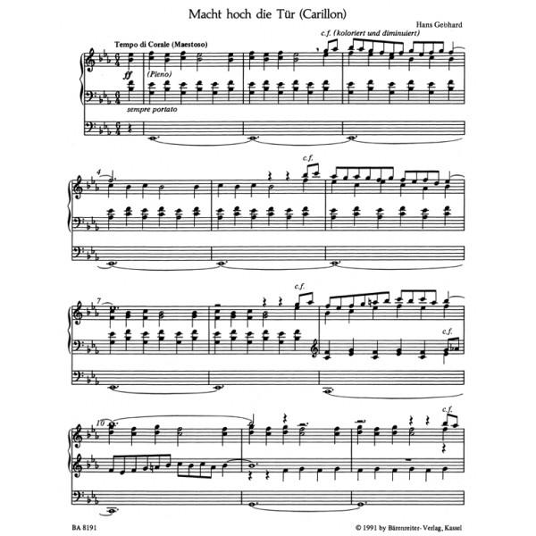 Gebhard H. - Choral Preludes (7).