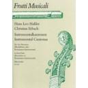 Hassler H.L. - Instrumental Canzonas (Erbach-Schmid).
