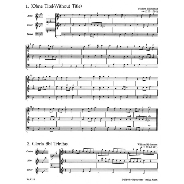 Various Composers - Ensemble Settings from the Mulliner Book.