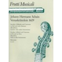 Schein J.H. - Venuskraenzlein 1609. Intradas, Galliards & Canzonas.