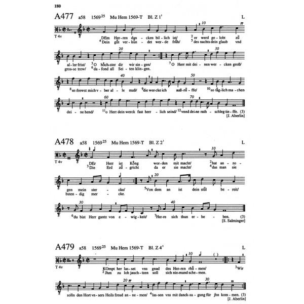 Various Composers - Deutsche Kirchenlied, Das. Vol. III/1/1: Die Melodien bis 1570.