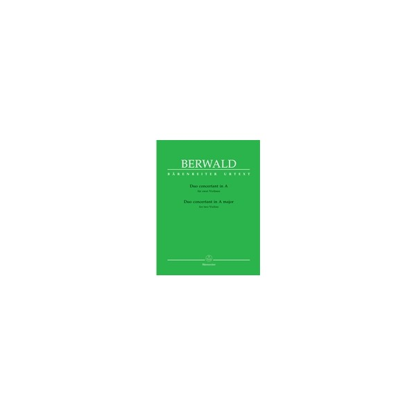 Berwald F.A. - Duo Concertant in A (Urtext).
