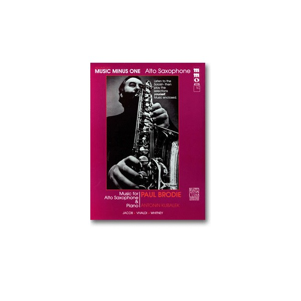 Advanced Alto Sax Solos, vol. I (Paul Brodie)