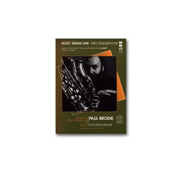 Advanced Alto Sax Solos, vol. III (Paul Brodie)