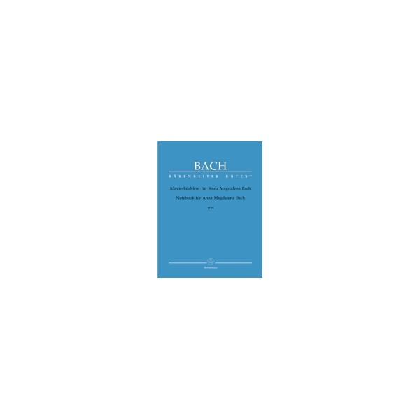 Bach J.S. - Little Notebook for Anna Magdalena Bach (1725) (Urtext).