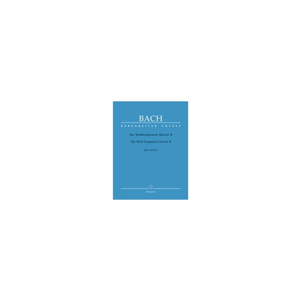 Bach J.S. - Well-Tempered Clavier, Book 2 (BWV 870-893) (Urtext).