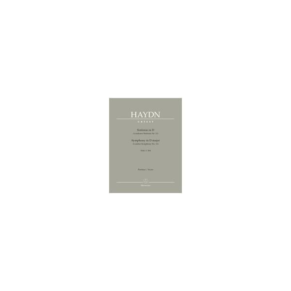 Haydn F.J. - Symphony No.104 in D (London) (Hob.I:104) (London No.12) (Urtext).