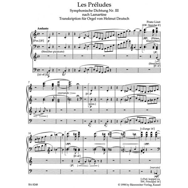 Liszt F. - Les Preludes.