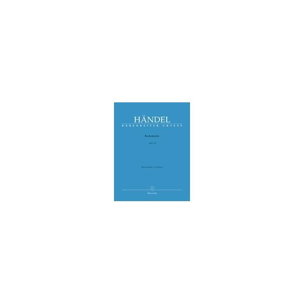 Handel G.F. - Radamisto (HWV 12b) (2nd version) (It) (Urtext).