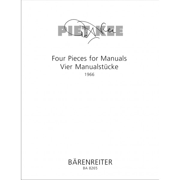Kee P. - Pieces (4) for Manuals.