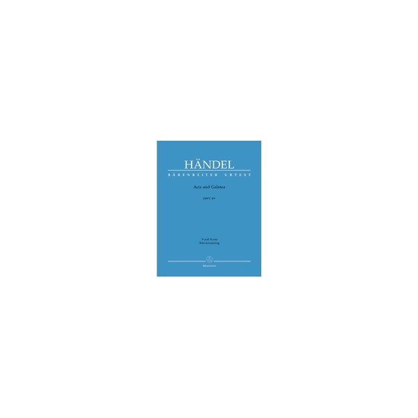 Handel G.F. - Acis and Galatea. Masque (HWV 49a) (E-G) (Urtext).