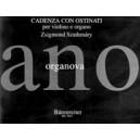 Szathmary Z. - Cadenza con ostinati per violino e organo