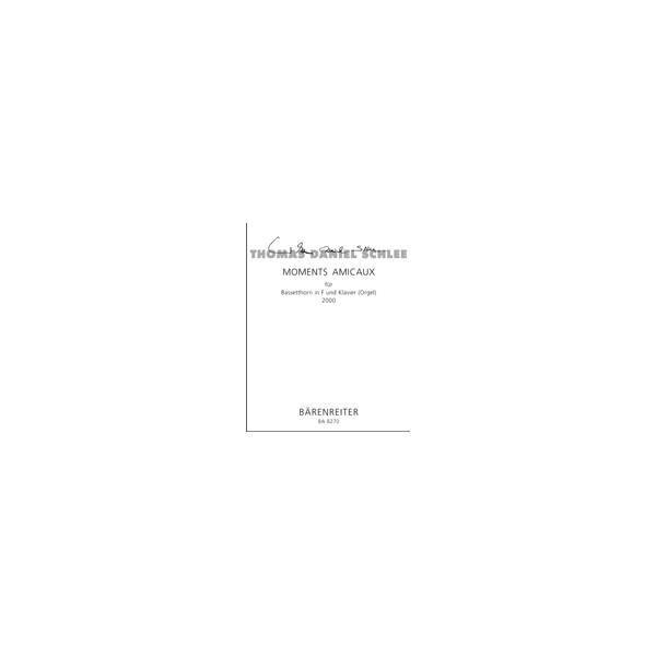 Schlee T.D. - Moments Amicaux Op.50a.