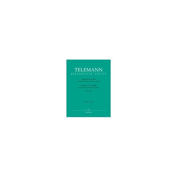 Telemann G.P. - Concerto for Viola in G (Urtext).