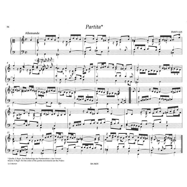 Froberger J.J. - Keyboard & Organ Works, Vol. 3/2. Partitas and Partita