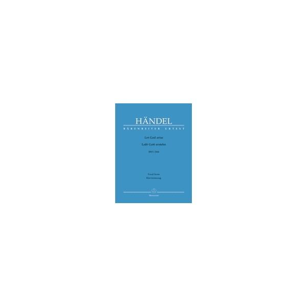 Handel G.F. - Let God arise (HWV 256b) (E-G) (Urtext).