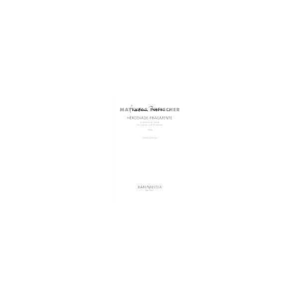 Pintscher M. - Herodiade-Fragmente (G) (1999)