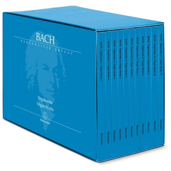 Bach J.S. - Organ Works in 11 volumes (special price) (Urtext).