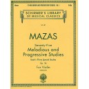 Jacques F. Mazas: 75 Melodious And Progressive Studies Op.36 Book 1 - Mazas, Jacques Fereol (Artist)