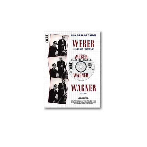 WEBER Grand Duo Concertant: WAGNER Adagio
