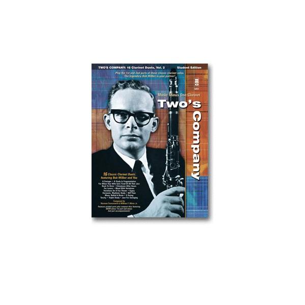 Twos Company: 16 Clarinet Duets w/Rhythm Section (Bob Wilber)