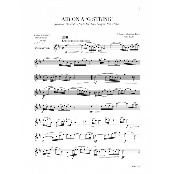 Clarinet Cameos: Classic Concert Pieces for Clarinet and Orchestra - Music Minus One - Play-a-long edition