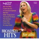Broadway Hits For Alto