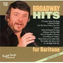 Broadway Hits For Baritone