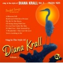Sing In The Style of Diana Krall, Vol. 3