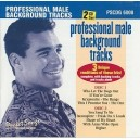 Professional Male Background Tracks (2 CD Set)