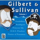 Gilbert & Sullivan, Vol. 1 - Stage Stars - Musical Theatre Backing Tracks CD