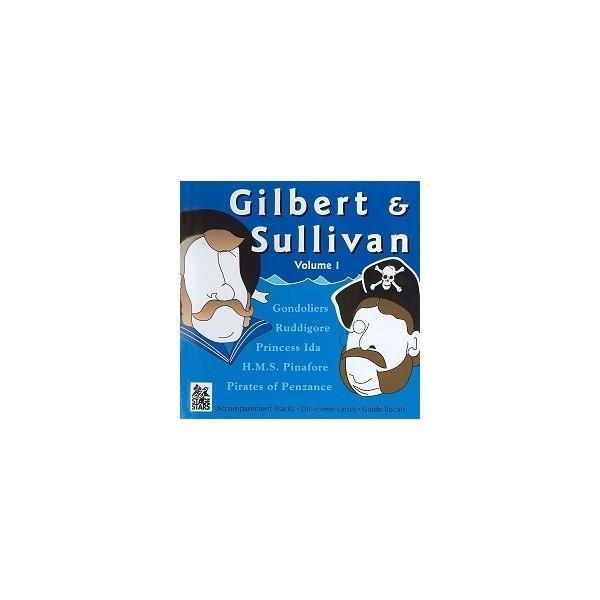 Gilbert & Sullivan, Vol  1 - Stage Stars - Musical Theatre Backing Tracks CD